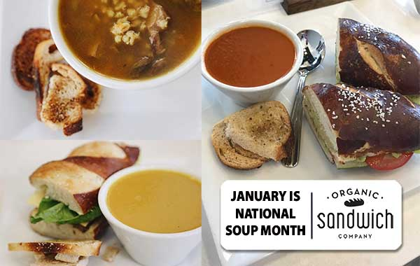 Happy New Year, January is National Soup Month, coupon enclosed