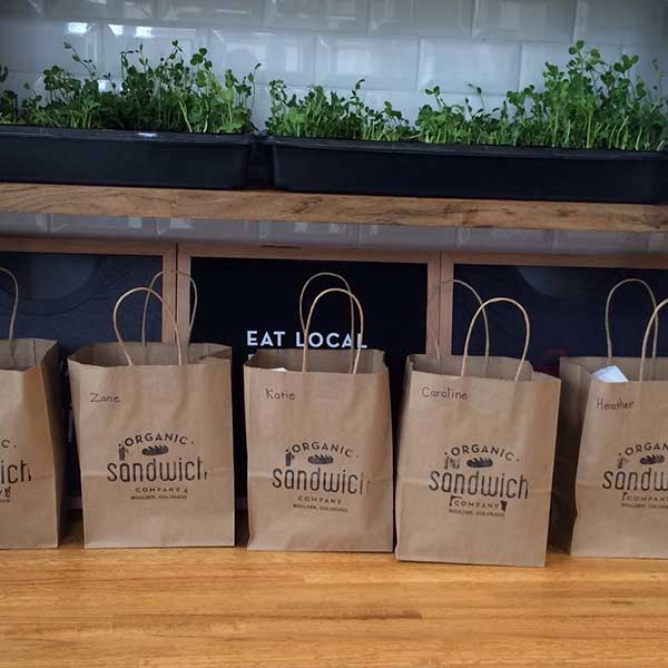 Organic Sandwich Co Store Update Plus Locally Sourced Meal Kits are Here!